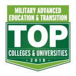 Military Advanced Education & Transition Top Colleges & Universities 2018